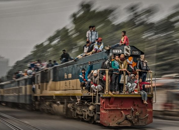 火车节摄影游